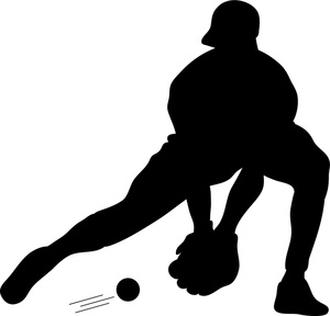Image result for boys baseball silhouette