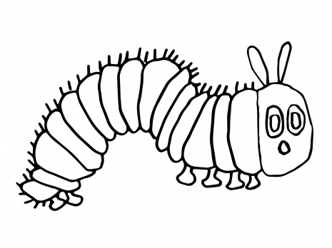 Caterpillar Coloring Pages | Clipart Panda - Free Clipart Images