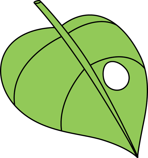 Caterpillar On A Leaf Clipart Clipart Panda Free