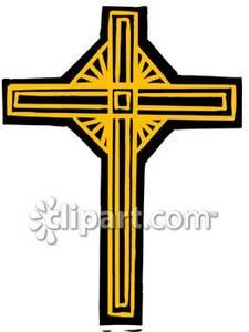 catholic%20cross%20clipart%20gold