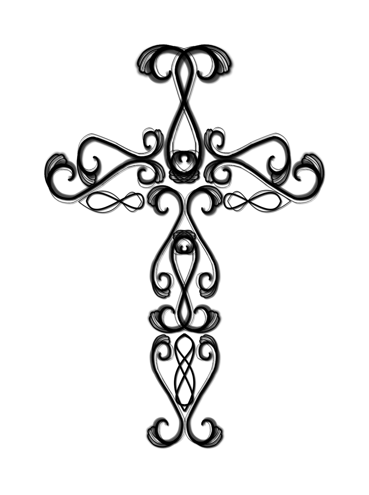 Catholic cross drawing clipart panda free clipart images for Free online drawing