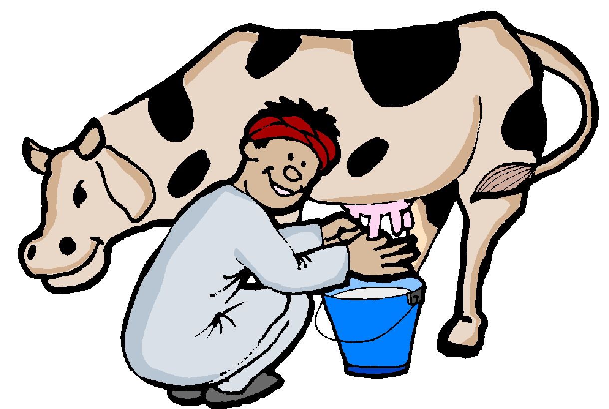 free clip art dairy cow - photo #5