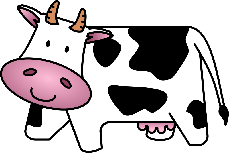 Cute Baby Cow Clipart | Clipart Panda - Free Clipart Images