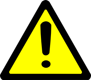 Image result for caution sign