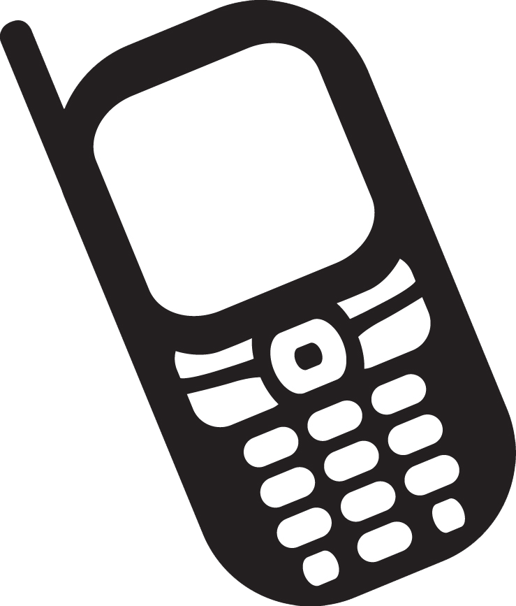 Cell Phone Clip Art in the Era | Clipart Panda - Free Clipart Images