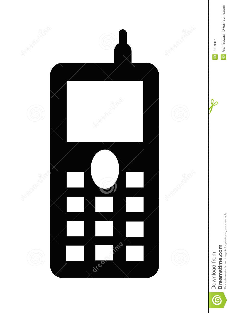 Cell Phone Clipart Black And White | Clipart Panda - Free Clipart ...