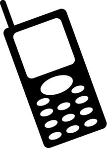 Cell Phone Clipart | Clipart Panda - 14.1KB