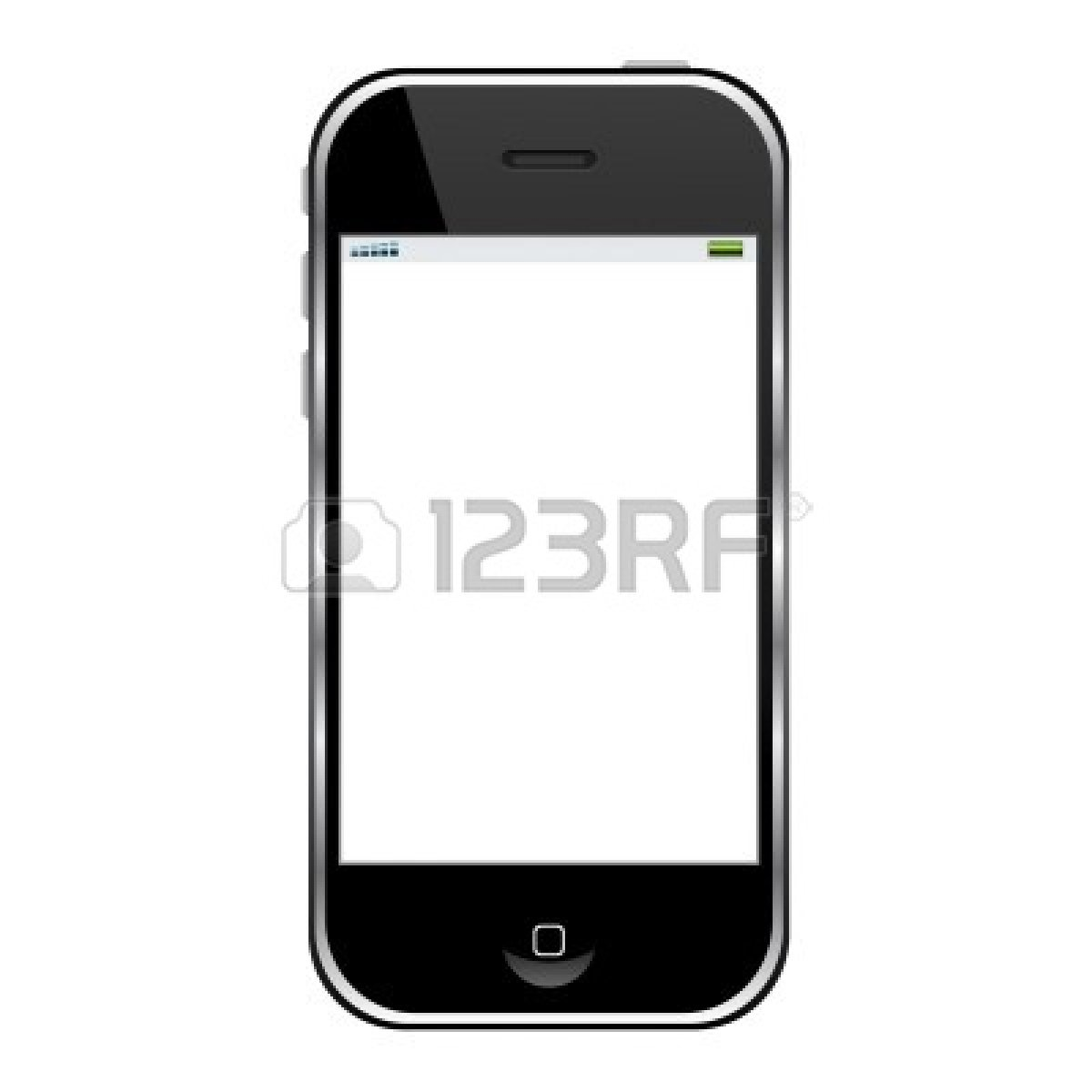 cell phone clipart black and white - photo #19