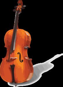 Cello clip art - vector clip