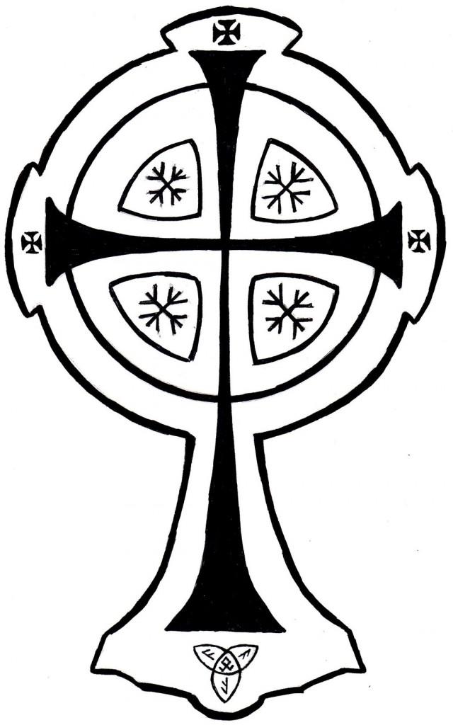 free celtic cross clip art clipart panda free clipart images