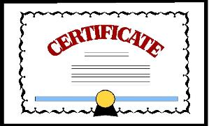 Certificate 20clipart Clipart Panda Free Clipart Images