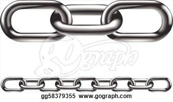 Cartoon metal chains