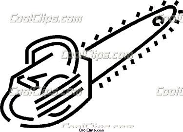 Gas Chain Saw Clip Art Cliparts