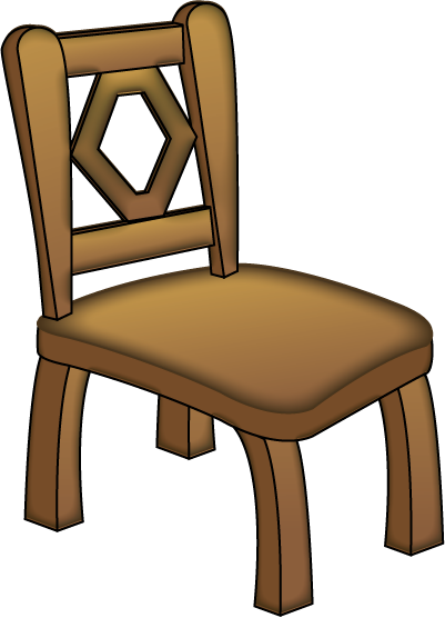 Wooden Chair Clip Art ~ School chair clipart panda free images