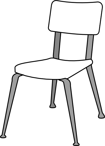 School Chair Clipart Clipart Panda Free Clipart Images