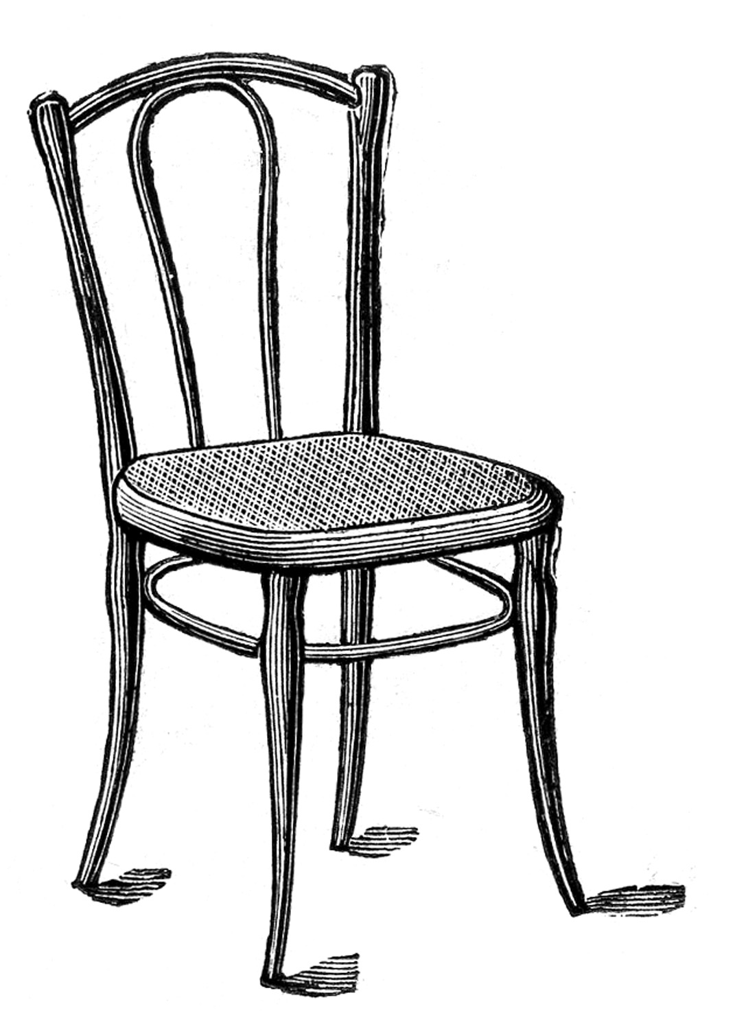Restaurant tables and chairs clipart - Chair 20clip 20art 20black 20and 20white