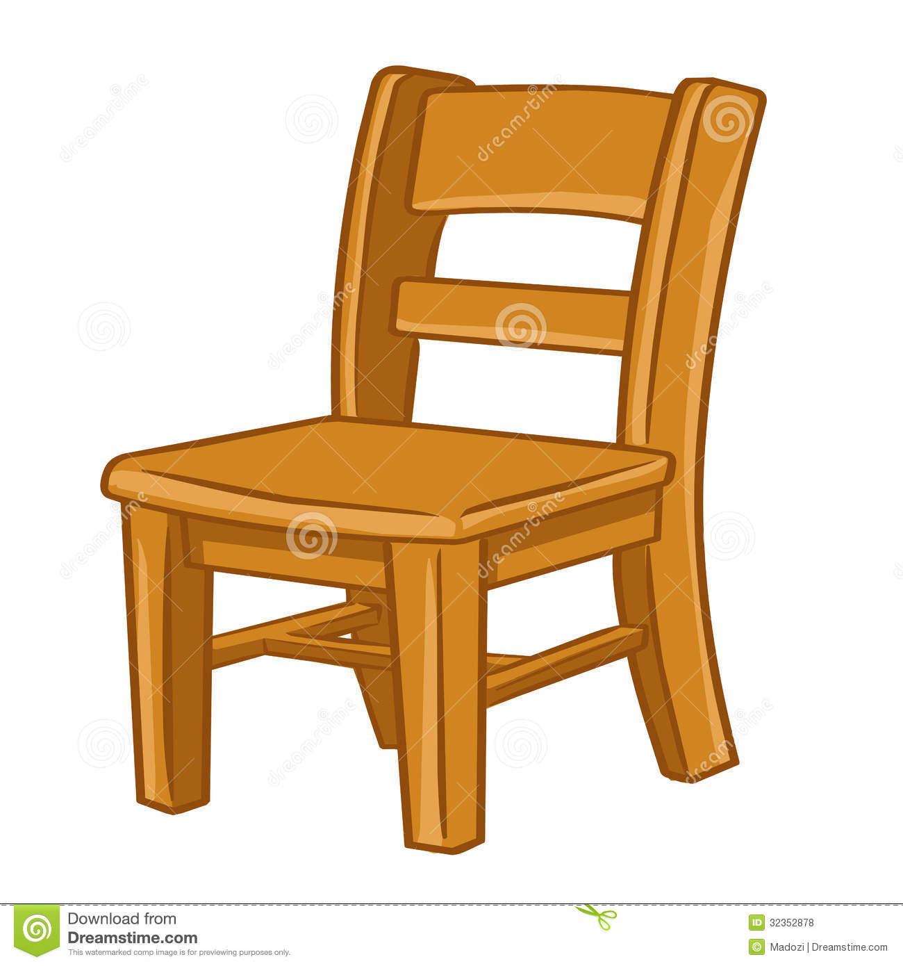 Chair clipart black and white panda free