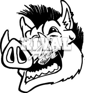 arkansas razorback clip art clipart panda free clipart images rh clipartpanda com razorback pig clipart razorback birthday clipart