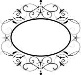 Gold Scroll Frame Clip Art