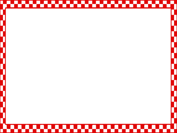 Checker Border clip art