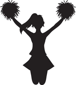 cheerleader clip art | Clipart Panda - Free Clipart Images