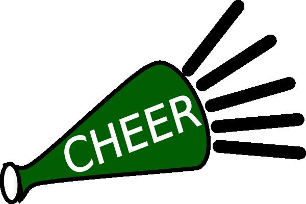 Green Cheer Megaphone Clipart | Clipart Panda - Free ...