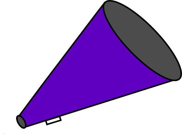 how to make a cheer megaphone