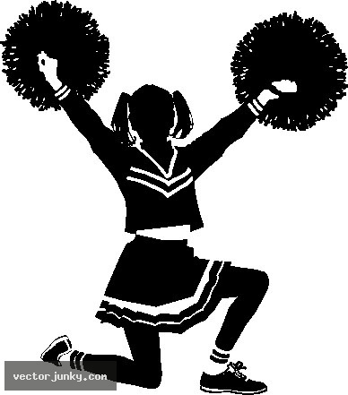of cheerleaders clipart clipart panda free clipart images rh clipartpanda com cheerleader clipart free black pom poms cheerleader clipart megaphone