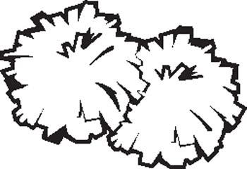 Clip Art Cheerleader Images Clip Art cheer megaphone clipart black and white panda free clip art