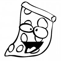 free pizza steve coloring pages - photo#22