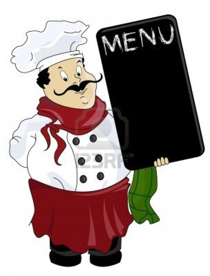 italian chef clipart free