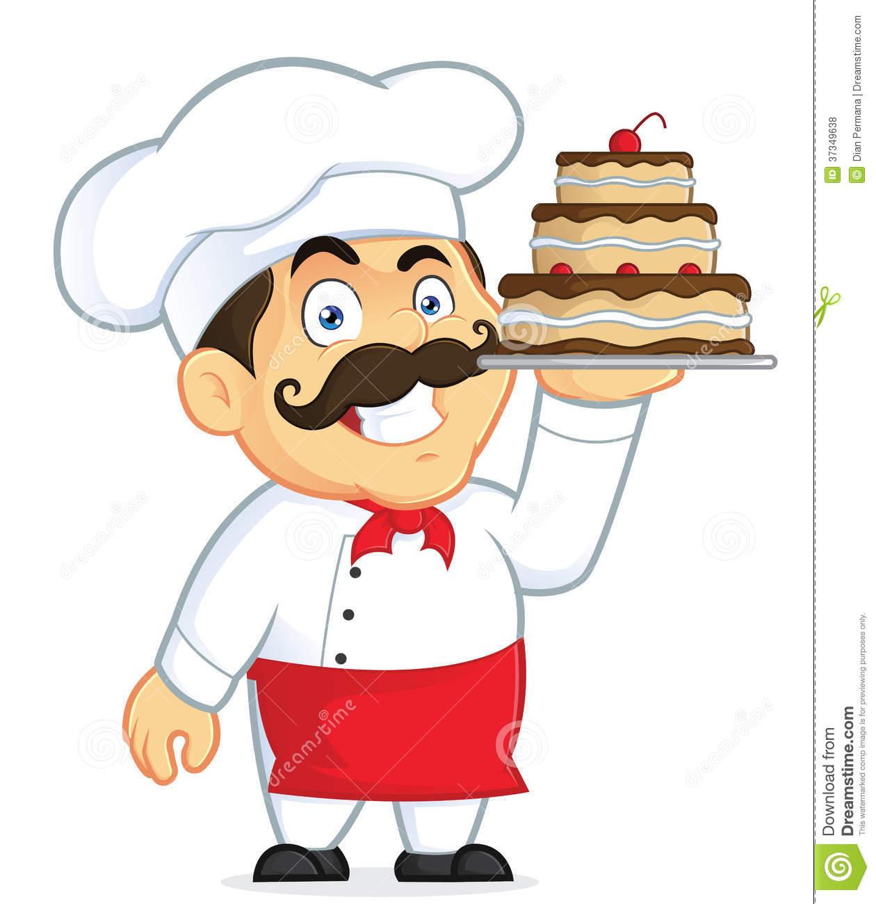 Christmas Cartoon Cake