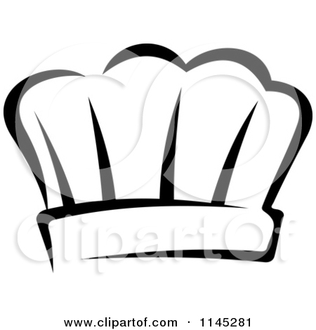 chef clipart black and white clipart panda free