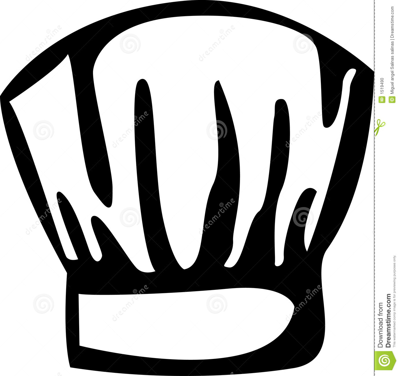 chef clipart black and white male models picture