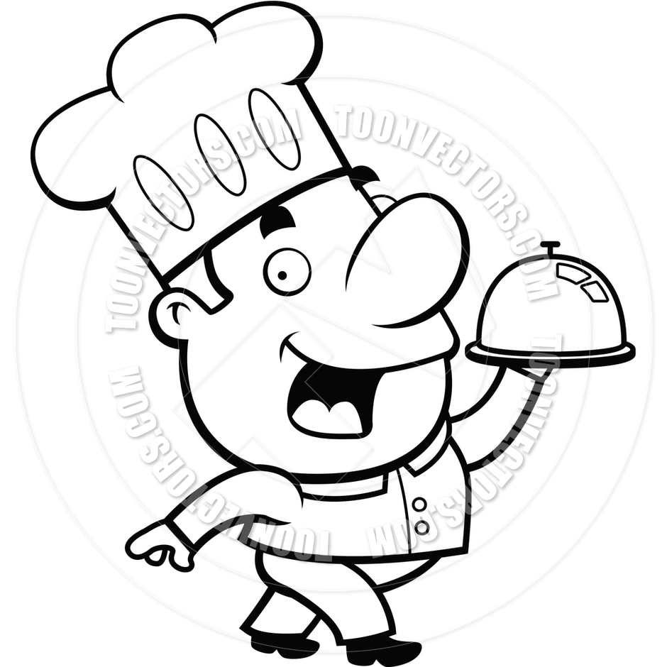 chef%20hat%20clipart%20black%20and%20white