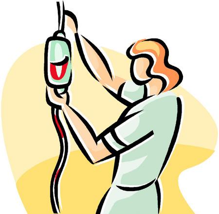 Clip Art Blood Transfusion
