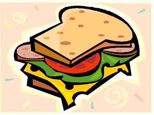 Book report sandwich