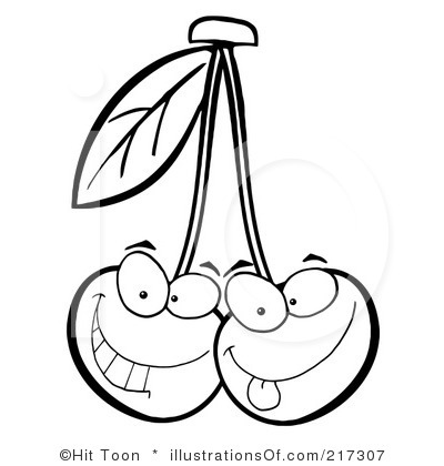 cherry%20clipart%20black%20and%20white