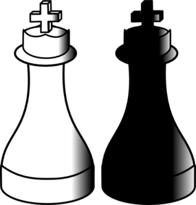 King And Queen Chess Clipart | Clipart Panda - Free ...