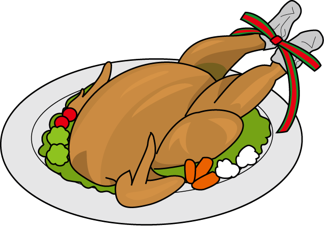 chicken-food-clipart-black-and-white-roast-clipart-roasted-chicken ...
