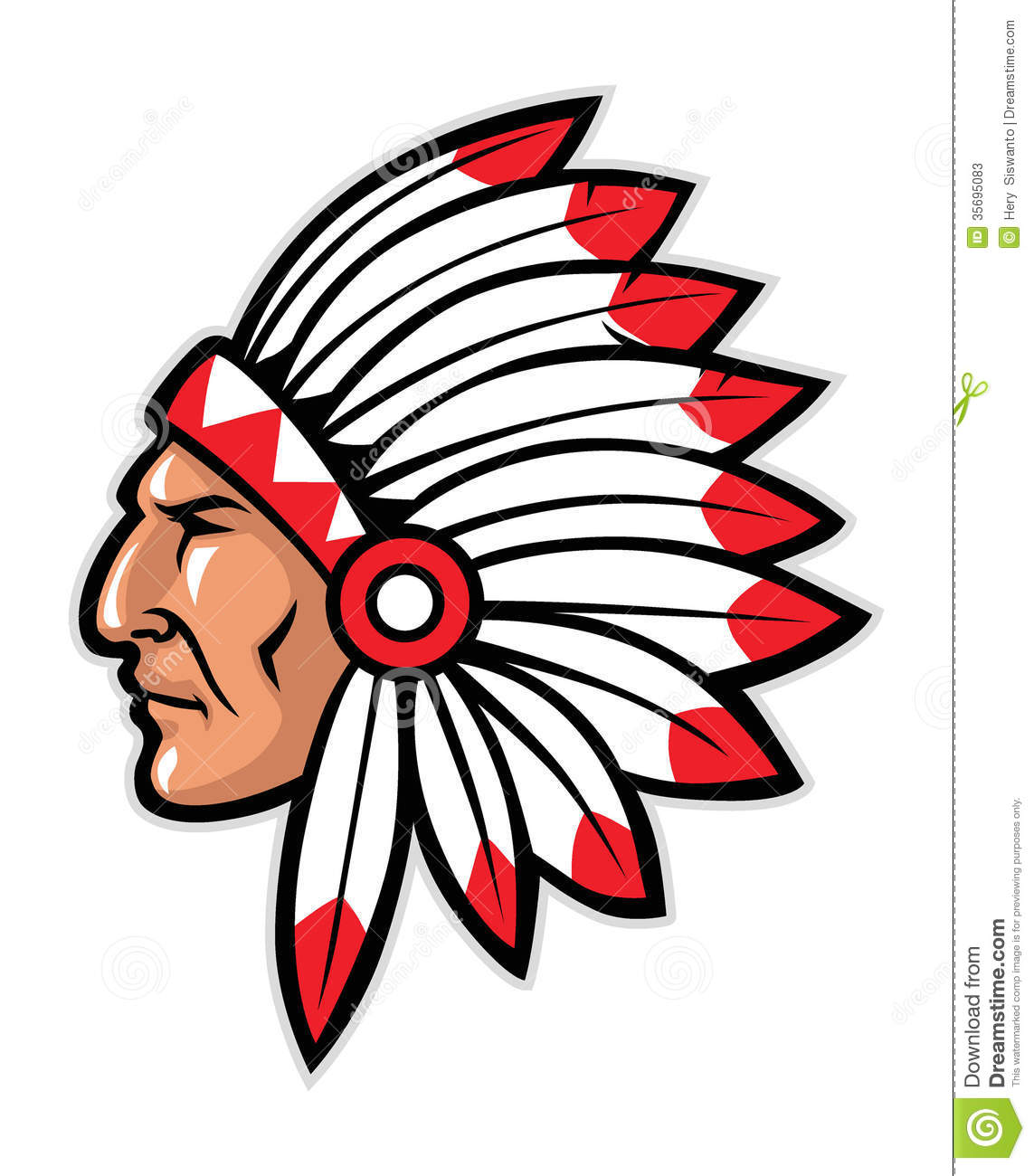 Indian Chief Clipart