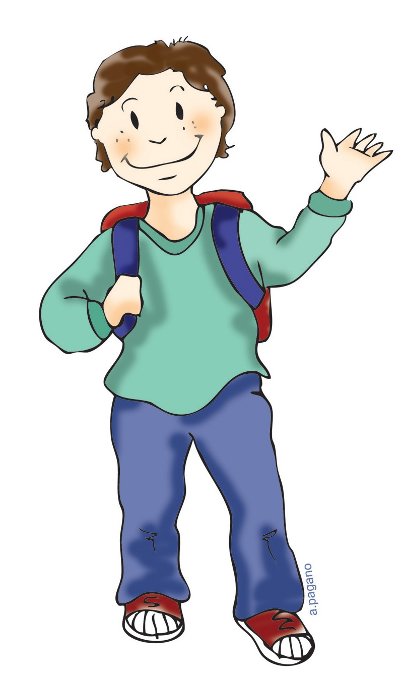 Child Standing Clipart | Clipart Panda - Free Clipart Images