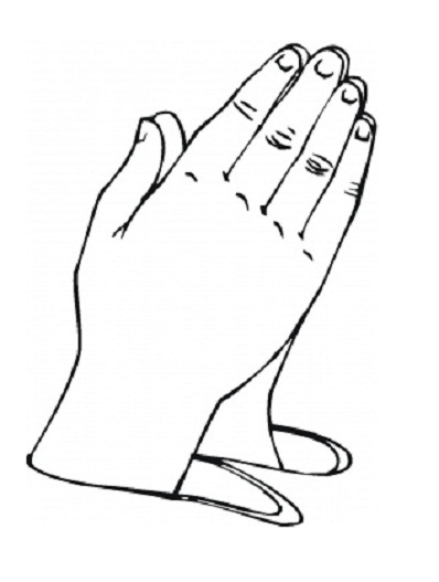 image relating to Printable Praying Hands titled 9 printable praying fingers. Clipart Panda - Free of charge Clipart Photographs