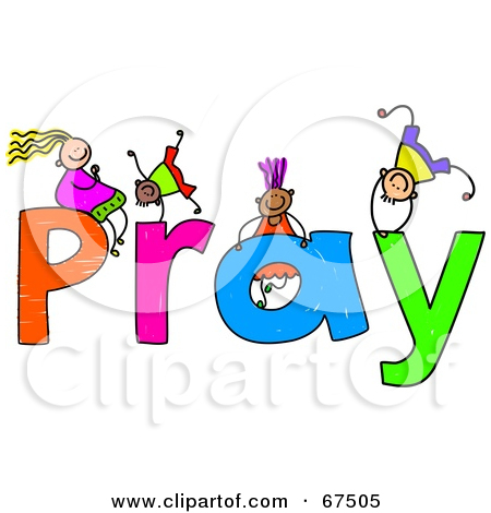 children praying clipart - photo #17