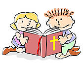 Children Reading The Bible Clipart | Clipart Panda - Free ...