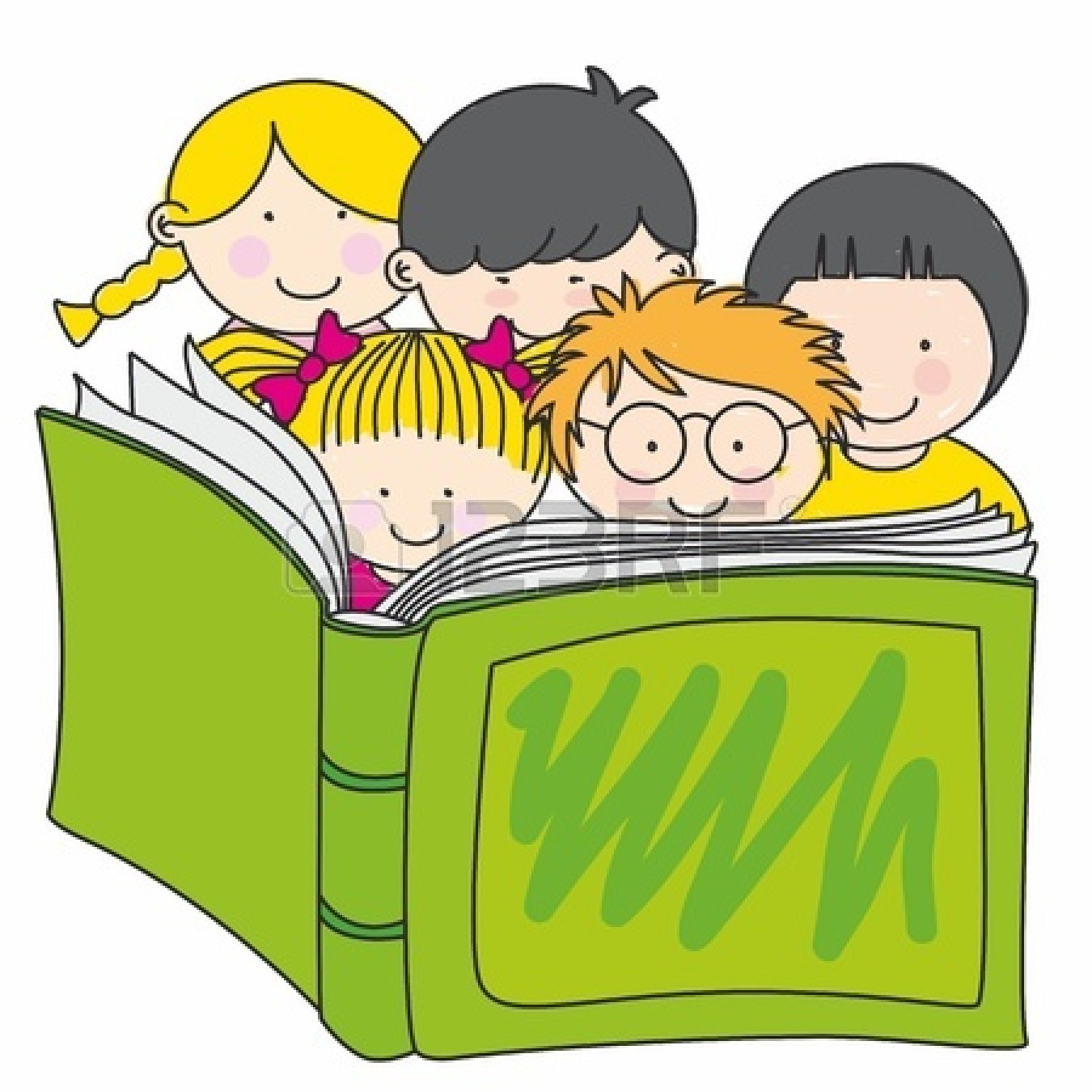 clipart child reading - photo #19