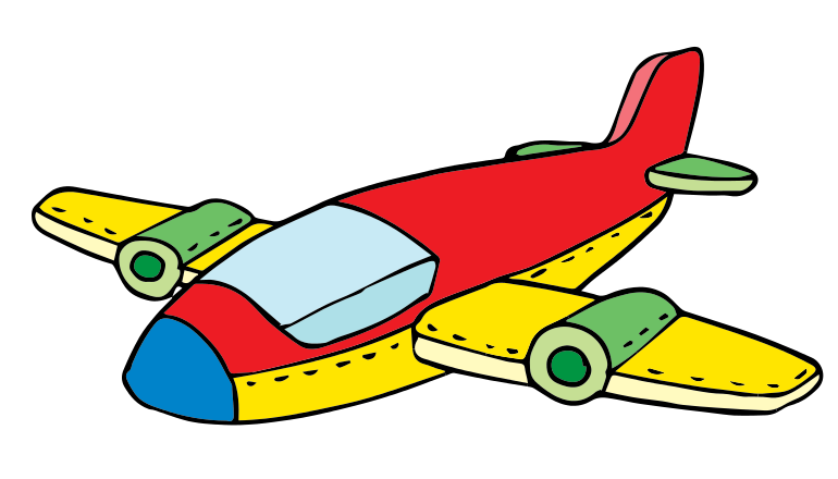 Cartoon Airplane Clipa...