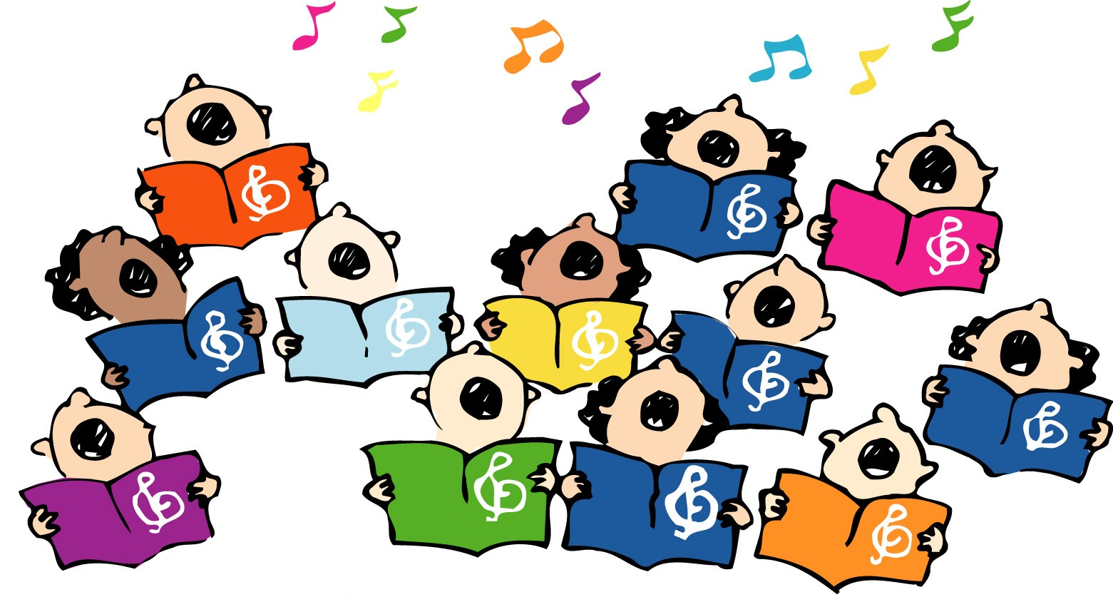 Image result for google images kids choir cartoon