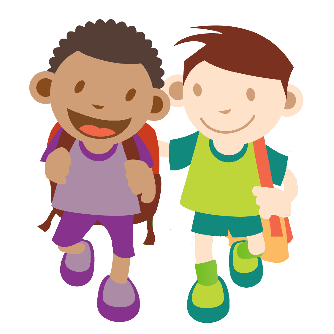 Children Walking Clip Art | Clipart Panda - Free Clipart ...