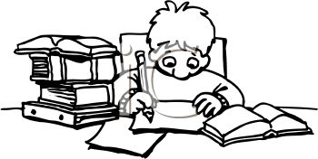 Doing Homework Clipart | Clipart Panda - Free Clipart Images